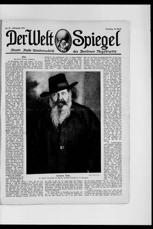 Berliner Tageblatt und Handels-Zeitung vom 13.04.1913