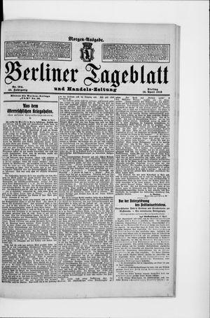 Berliner Tageblatt und Handels-Zeitung vom 18.04.1913