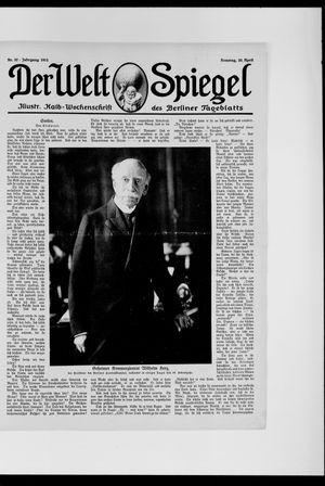Berliner Tageblatt und Handels-Zeitung vom 20.04.1913