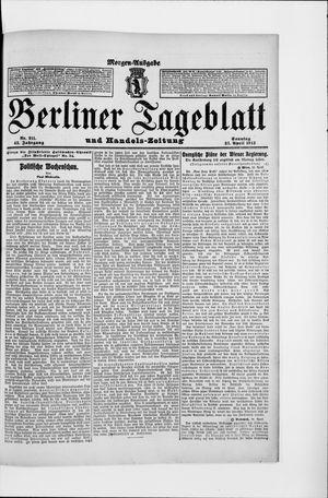 Berliner Tageblatt und Handels-Zeitung vom 27.04.1913