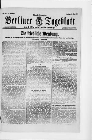 Berliner Tageblatt und Handels-Zeitung vom 02.05.1913