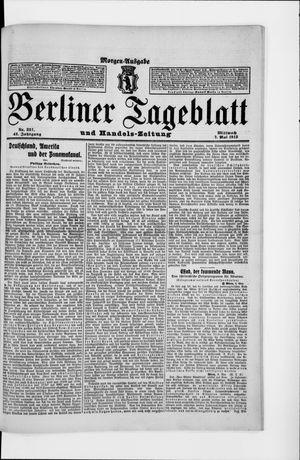 Berliner Tageblatt und Handels-Zeitung on May 7, 1913