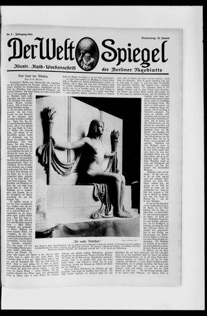Berliner Tageblatt und Handels-Zeitung vom 15.01.1914