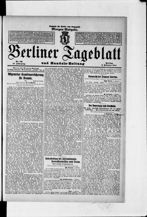 Berliner Tageblatt und Handels-Zeitung vom 06.02.1914