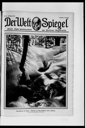 Berliner Tageblatt und Handels-Zeitung vom 08.02.1914