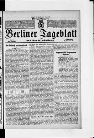 Berliner Tageblatt und Handels-Zeitung vom 26.02.1914
