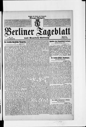 Berliner Tageblatt und Handels-Zeitung vom 04.03.1914