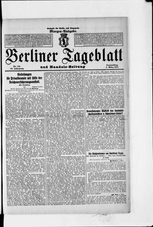 Berliner Tageblatt und Handels-Zeitung vom 05.03.1914