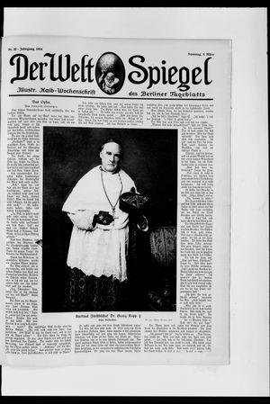 Berliner Tageblatt und Handels-Zeitung on Mar 8, 1914