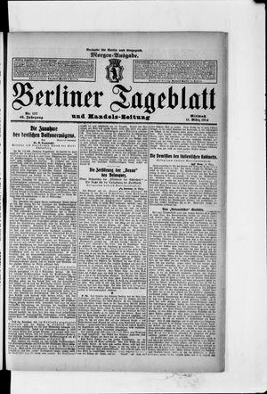 Berliner Tageblatt und Handels-Zeitung vom 11.03.1914