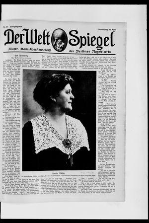 Berliner Tageblatt und Handels-Zeitung vom 12.03.1914