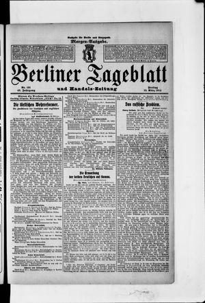 Berliner Tageblatt und Handels-Zeitung vom 13.03.1914