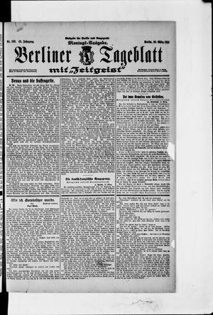 Berliner Tageblatt und Handels-Zeitung vom 16.03.1914