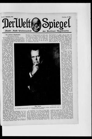 Berliner Tageblatt und Handels-Zeitung vom 22.03.1914