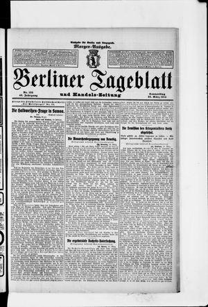 Berliner Tageblatt und Handels-Zeitung vom 26.03.1914
