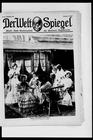 Berliner Tageblatt und Handels-Zeitung vom 12.04.1914