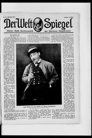 Berliner Tageblatt und Handels-Zeitung vom 19.04.1914