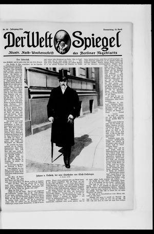 Berliner Tageblatt und Handels-Zeitung vom 23.04.1914