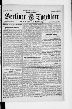Berliner Tageblatt und Handels-Zeitung vom 02.05.1914