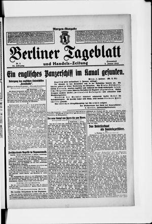 Berliner Tageblatt und Handels-Zeitung vom 02.01.1915