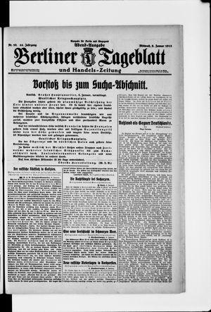 Berliner Tageblatt und Handels-Zeitung vom 06.01.1915