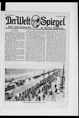 Berliner Tageblatt und Handels-Zeitung vom 07.01.1915