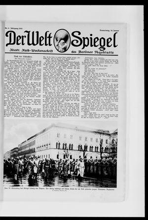 Berliner Tageblatt und Handels-Zeitung vom 14.01.1915