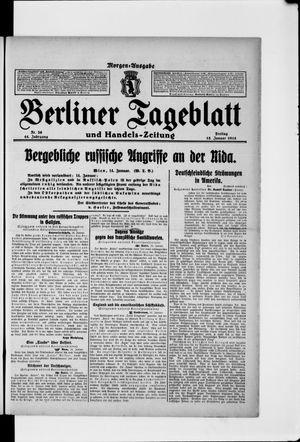 Berliner Tageblatt und Handels-Zeitung vom 15.01.1915