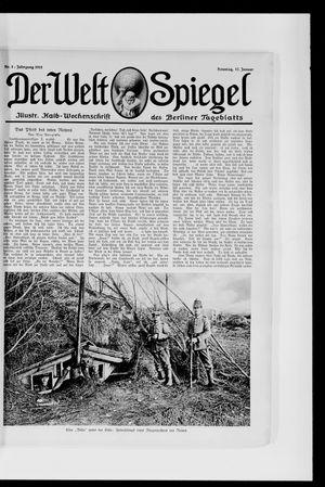 Berliner Tageblatt und Handels-Zeitung vom 17.01.1915