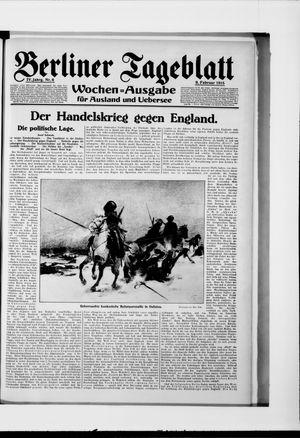 Berliner Tageblatt und Handels-Zeitung vom 09.02.1915