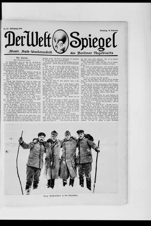 Berliner Tageblatt und Handels-Zeitung on Feb 14, 1915