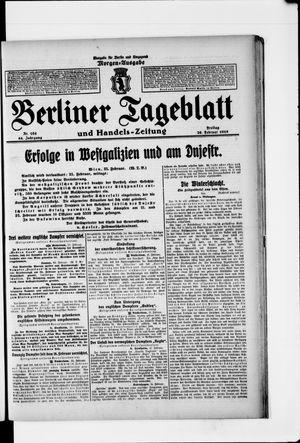 Berliner Tageblatt und Handels-Zeitung vom 26.02.1915