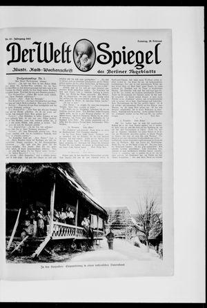Berliner Tageblatt und Handels-Zeitung vom 28.02.1915