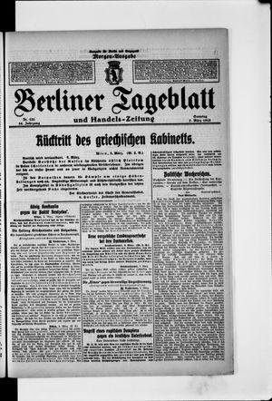 Berliner Tageblatt und Handels-Zeitung vom 07.03.1915