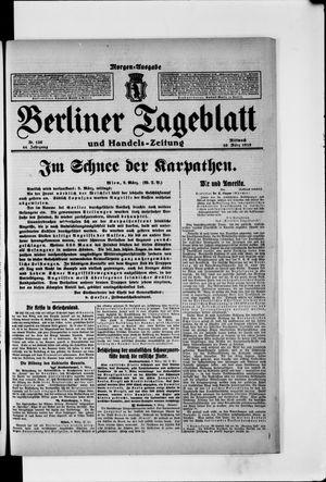 Berliner Tageblatt und Handels-Zeitung vom 10.03.1915