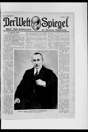Berliner Tageblatt und Handels-Zeitung vom 14.03.1915