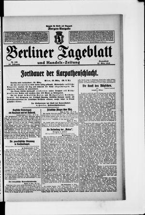 Berliner Tageblatt und Handels-Zeitung vom 27.03.1915