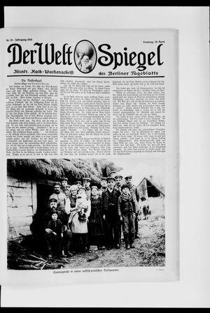 Berliner Tageblatt und Handels-Zeitung on Apr 18, 1915