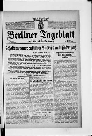 Berliner Tageblatt und Handels-Zeitung vom 23.04.1915