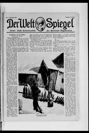 Berliner Tageblatt und Handels-Zeitung on Jan 2, 1916