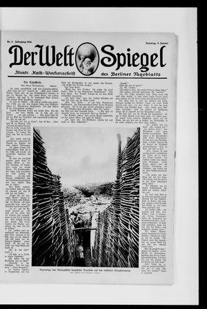 Berliner Tageblatt und Handels-Zeitung on Jan 9, 1916