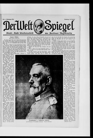 Berliner Tageblatt und Handels-Zeitung on Jan 16, 1916