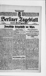 Berliner Tageblatt und Handels-Zeitung (17.01.1916)