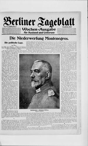 Berliner Tageblatt und Handels-Zeitung vom 18.01.1916