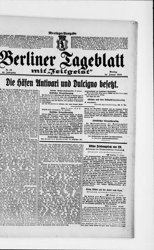 Berliner Tageblatt und Handels-Zeitung vom 24.01.1916