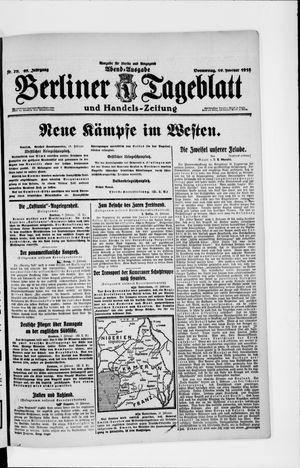 Berliner Tageblatt und Handels-Zeitung vom 10.02.1916