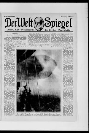 Berliner Tageblatt und Handels-Zeitung vom 17.02.1916