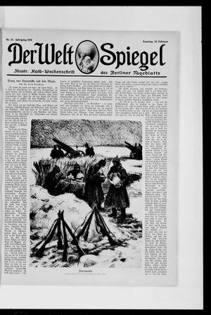 Berliner Tageblatt und Handels-Zeitung vom 20.02.1916