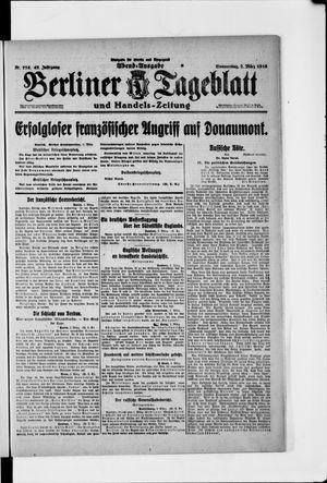 Berliner Tageblatt und Handels-Zeitung vom 02.03.1916