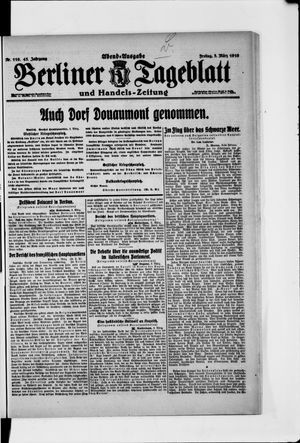 Berliner Tageblatt und Handels-Zeitung vom 03.03.1916